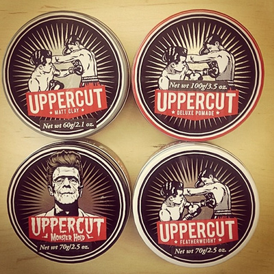 UPPERCUT DELUXE POMADE ☆ UPPERCUT FEATHERWEIGHT POMADE ☆ UPPERCUT MATT CLAY  POMADE ☆ UPPERCUT MONSTER HOLD