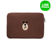 [LINE FRIENDS] LINE FRIENDS LAPTOP SLEEVE 13INCH_BROWN