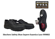 Skechers Safety Shoe Sayern-Suamico Lace 999802-Black