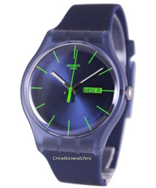 [CreationWatches] Swatch Originals Blue Rebel Swiss Quartz SUON700 Unisex Watch