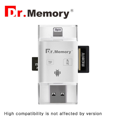 super popular 90f0f fd4eb online micro Sd card reader for Apple iphone 6s 7 plus Pendrive metal  Expansion Android phone OTG me