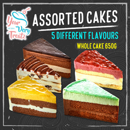 YourVeryTreatz Cafe Whole Cake (650g) 5 Flavours Available!