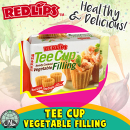[RED LIPS] TEE CUP VEGETABLE FILLING. One Pack - 600g. Healthy and Delicious.