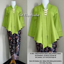 SB Collection Stelan Top Kebaya Tricia Blouse and Skirt Lilit Batik Wanita