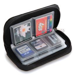 CF/SD/SDHC/MMC/Micro SD Multi Memory Card Holder Storage Organizer Pouch Case