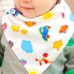 Baby Kids Boy Girl Lace Bibs Saliva Towel Triangle Bandana Head Scarf Kid LA