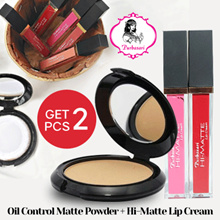 Bundling (Purbasari Oil Control Matte Powder+Hi-Matte Lip Cream)