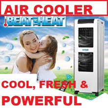 MBC1800 DR COOL 24Ltr EVAPORATIVE Honeycomb AIR COOLER STRONG FAN COOL WIND 1800m3/Hr FAST COOLING