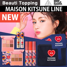 NEW★3CE★MAISON KITSUNE LINE/Velvet Lip Tint/Lip Crayon/Eye Switch/Eye Palete/Pouch/Mirror[Beauti Top
