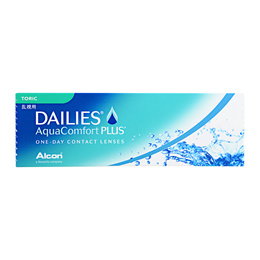 Alcon Dailies AquaComfort PLUS One-Day Contact Lenses Toric (30 lenses) PWR 0.00 ~ -8.00