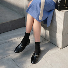 [SAPPUN官方旗艦店] Skining金屬裝飾樂福懶人鞋(1cm)