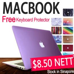 [JD Mall] Free Keyboard Protector MacBook Matte Crystal Translucent Hard Case