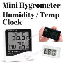 [SG] Clock Stand / Mini Temperature and Humidity Meter - Hygrometer. Dry Box Camera Toys DSLR