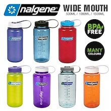 Nalgene Water Bottle / WIDE and NARROW mouth/BPA Free / Small water Bottle - 500ml / 1000ml / 1500ml