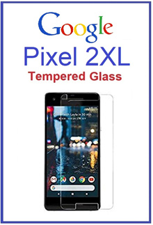 Google Pixel 2XL Tempered Glass Screen Protector /Full Cover Glass/TPU Flim/Camera Len Protector