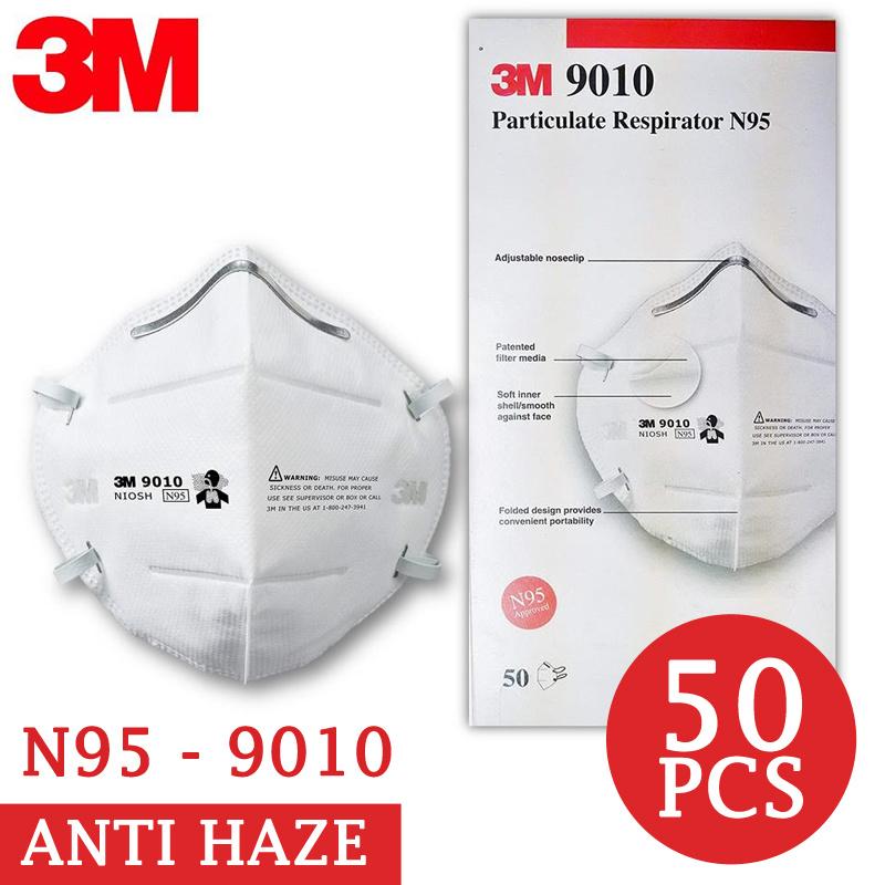 3m Mask Efficiency N95 Children 3manti Haze Filter 9010 20pcs For 8210 Face 95