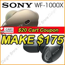Apply$20 (17~18 Nov)◆SONY WF-1000X Stereo Bluetooth In-Ear Earphones Noise Cancellation