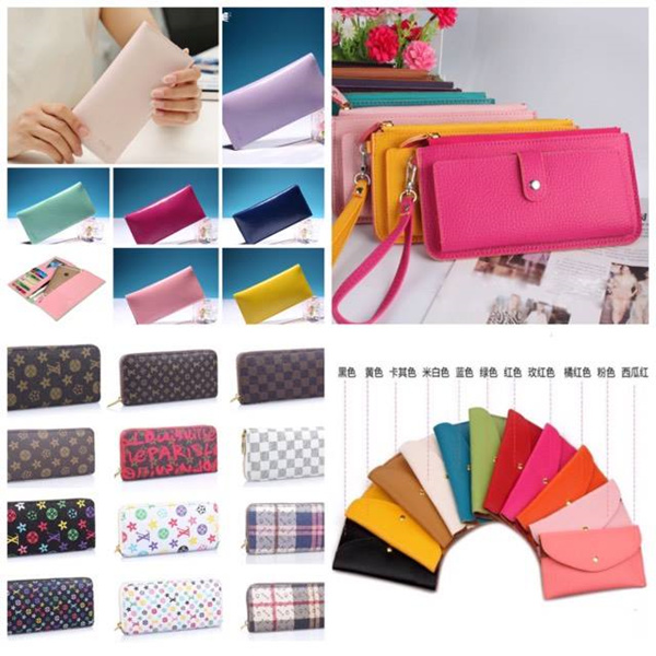 ?4 DESIGNS? Candy Colour PU Leather Wallet/Purse Deals for only RM15.5 instead of RM15.5
