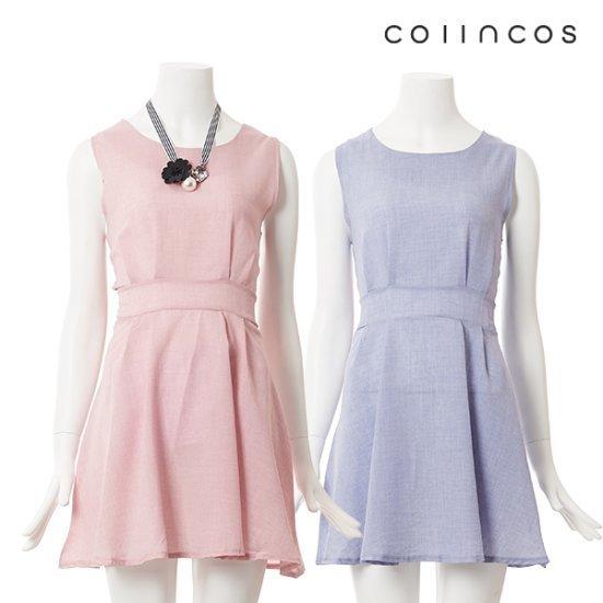コインコーズフェミニンフレアワンピースIT7MO356 面ワンピース/ 韓国ファッション