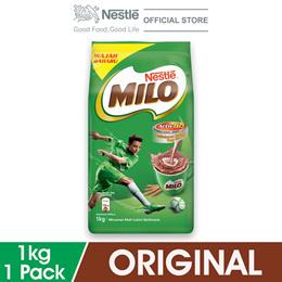 NESTLE MILO ACTIV-GO CHOCOLATE MALT POWDER Softpack 1kg