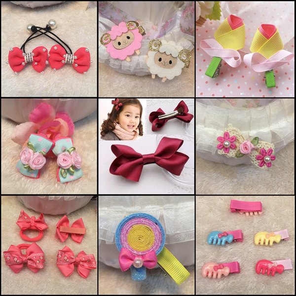 [TWL][18APR-UPDATED] BABY CHILDREN GIRLS CUTE HAIR CLIPS BABYCLIP BB CLIP ORGANIZER BOWS FLOWER Deals for only S$4 instead of S$0