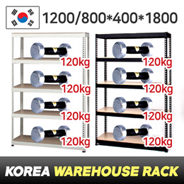 [RESTOCKED/800*1800 $29.9]★Boltless Rack★Made in KOREA★4Tier★No bolts★Easy assembly★Storage★warehous