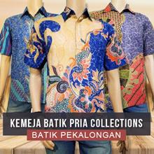 Kemeja Batik Pria Collections - High Quality - Many Style - Batik HADES Pekalongan - Free Ongkir Jkt