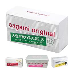 【Sagami】超激薄衛生套 相模 保險套 避孕套 001 / 002 / 002L / 002家庭號 日本Sagami