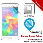 Premium Protection Anti-Fingerprint Matte Samsung Galaxy Grand Prime Screen Protector 6 Months Warranty -