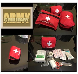 First Aid / First Aid Pouch/ Medic/ Outdoor/ Red Cross/Medical