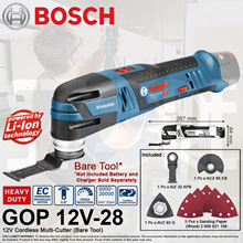 Bosch GOP 12 V-28 Cordless Multi-Cutter (Bare Tool) Brushless Motor