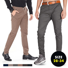 Mens Premium Outfit Pants - Chino Pants FOR MENS-BUSINESS / CHINO / CARGO STYLES-VARIOUS SIZES *