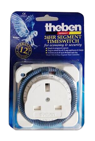 GERMANY [Power Timer]Theben I 24 HOURS I SEGMENT TIME SWITCH I 240V AC I 13A