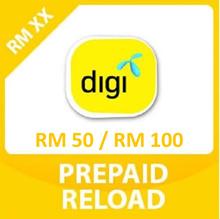 DIGI Prepaid RM50 / RM100