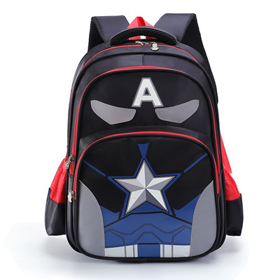 Hot Sale Student Backpack Boy Orthopedics School Bags Thick shoulder straps School  Bags for Boys and b9821280789f3