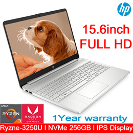 [HP] R3-3250U Laptop / NVMe 256GB / IPS  Panel / Slim model / WEBCAM