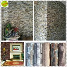 ★♛ New Style ★【5m*0.6m】PVC Self-adhesive Waterproof Stone grain Wallpaper ★ Eco-friendly Mould proof