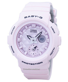 [CreationWatches] Casio Baby-G Shock Resistant World Time Analog Digital BGA-190BE-4A Womens Watch