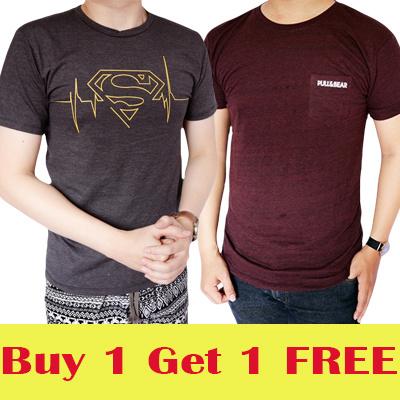 *Beli 1 GRATIS 1* Kaos T Shirt Distro Keren Model Terbaru Fashion Pria Keren Bahan Bagus Deals for only Rp96.600 instead of Rp96.600