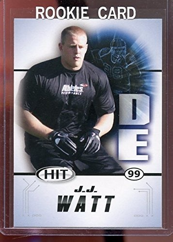2011 Sage Hit 99 Jj Watt Houston Texans Rookie Card Mint Condition Ships In A Brand New Holder