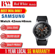 Samsung Watch BT 42mm/46mm-Samsung Singapore Warranty Set
