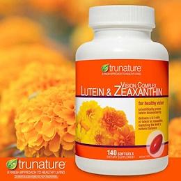 미국 트루네이쳐  눈건강 루테인 영양제 trunature Vision Complex Lutein  Zeaxanthin 140 Softgels
