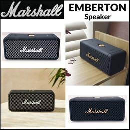 ★특가★[Marshall]마샬엠버튼 포터블블루투스 스피커/Marshall emberton portable  speaker Black/Black and Brass/Cream