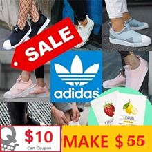 [ADIDAS]MAKE $55★FREE GIFT★2018 NEW Superstar Slip on/Casual Sneakers/100%AUTHENTIC/13 Types