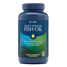 [Qprime]GNC Triple Strength Fish Oil 120 Softgels