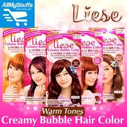 【Liese】Creamy Bubble Hair Color ★ WARM TONES ★