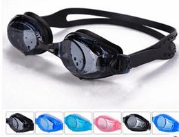 17d0ad843b0 Waterproof swimming goggles myopia mirror Antifog prescription swimming  glasses co payment