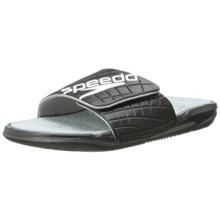 Speedo Womens Exsqueeze Me Rip All Purpose Slide Sandal,Black/High Rise,7 M US[USA Shipment]