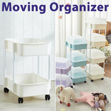 ◆General Purpose Diaper Moving Organizer◆ laundry basket / CNY/New Year/diapers storage stand/wheel
