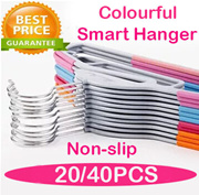 [Local Fast shipping]★Non slip Smart Hanger★Clothes Organizer Holder/Dress hanger/Slim hanger